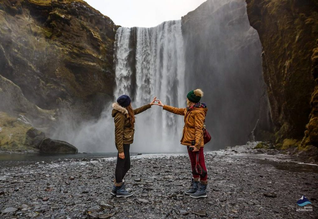 Skogafoss waterfall tour in Iceland
