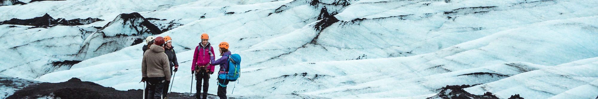 Randonnée sur glacier Solheimajokull