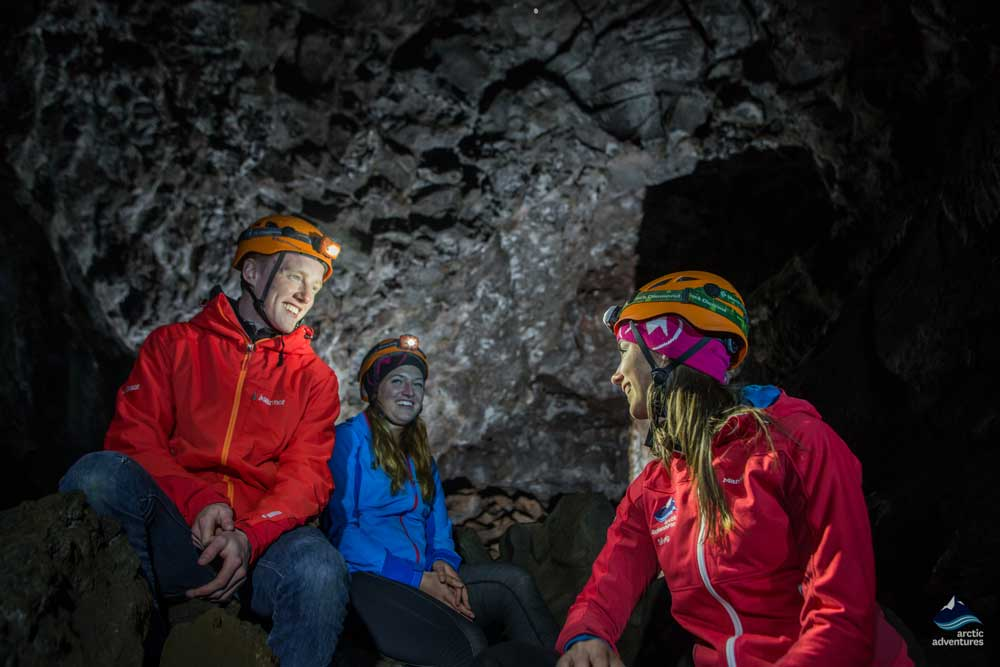 Caving tours in Iceland