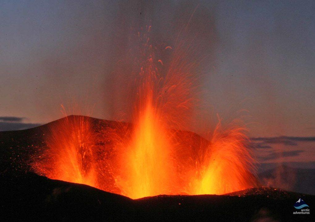 Fimmvorduhals Iceland eruption