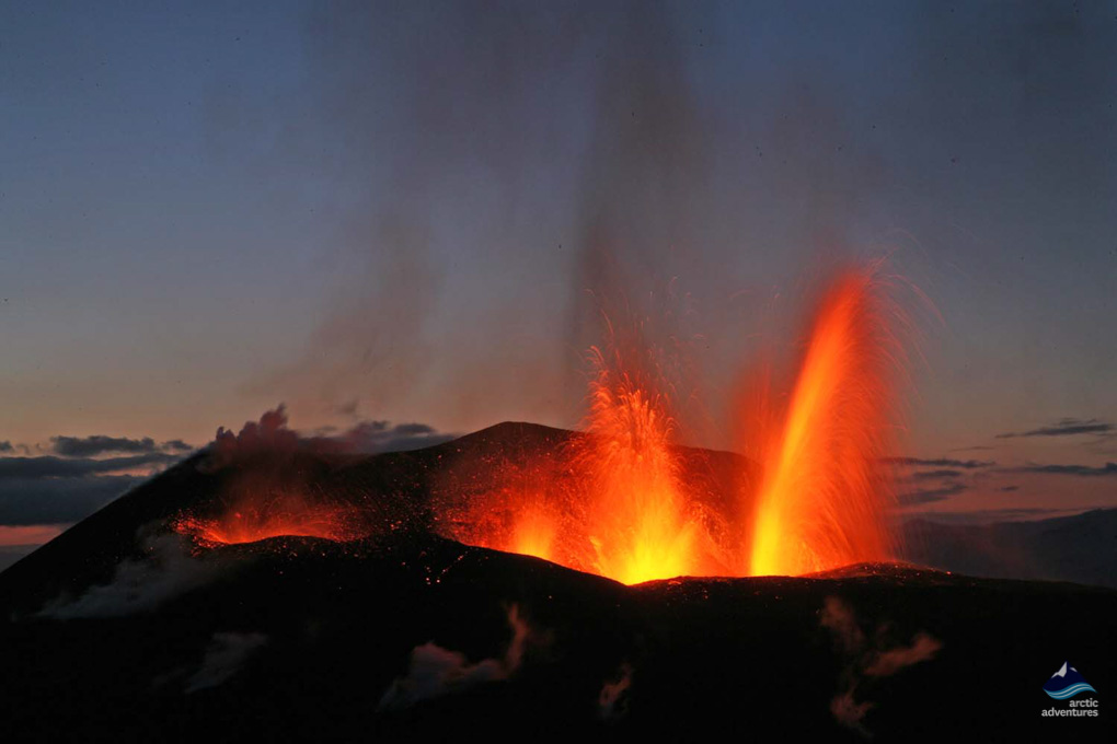 Fimmvorduhals eruption Iceland
