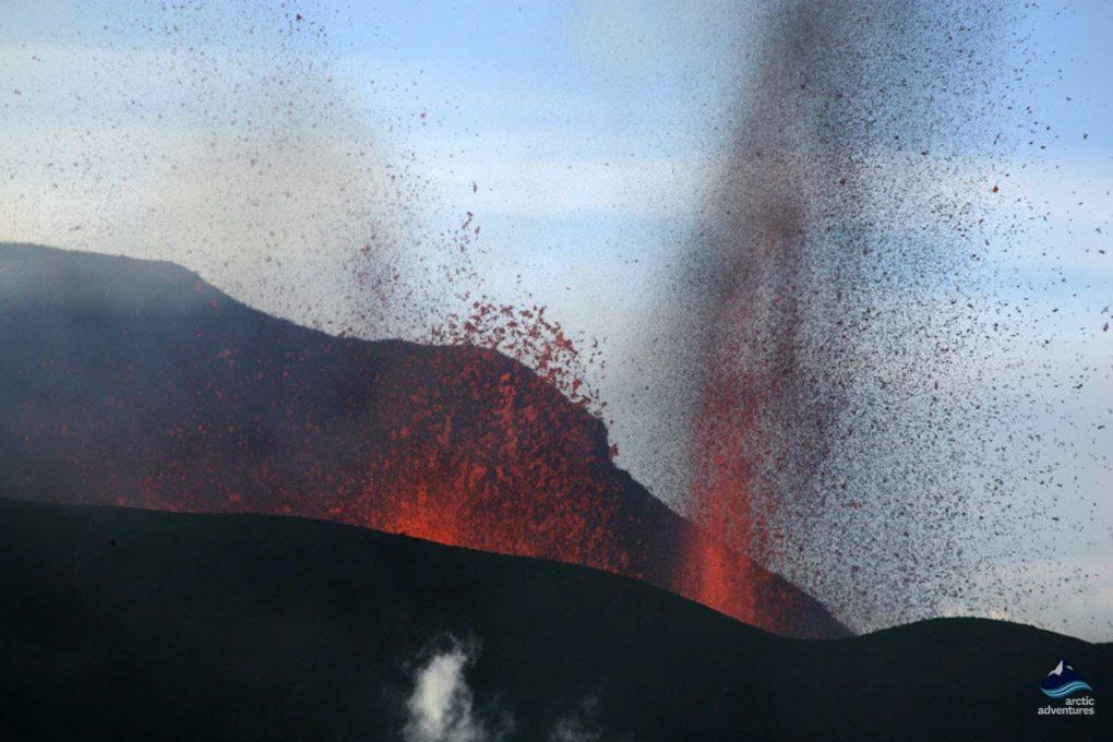 Eyjafjallajokull eruption in 2010