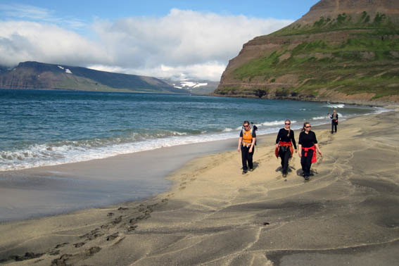 The Westfjords in the summertime