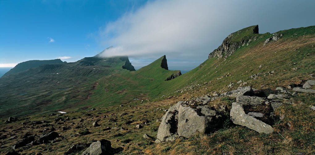 Hiking in Iceland the Westfjords