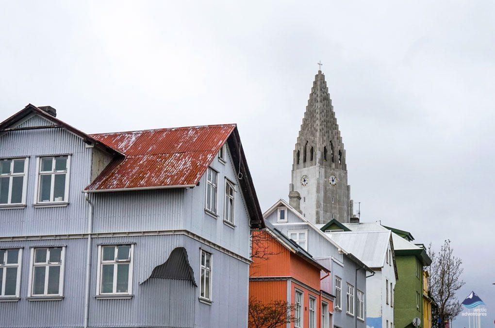 Hallgrimskirkja church Reykjavik
