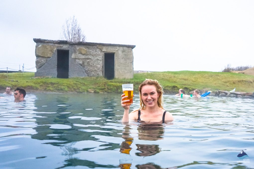 The oldest hot spring in Iceland