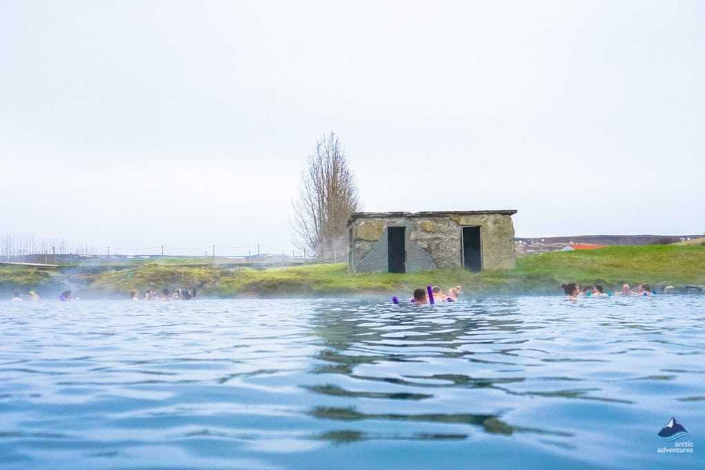 The oldest swimming pool in Iceland