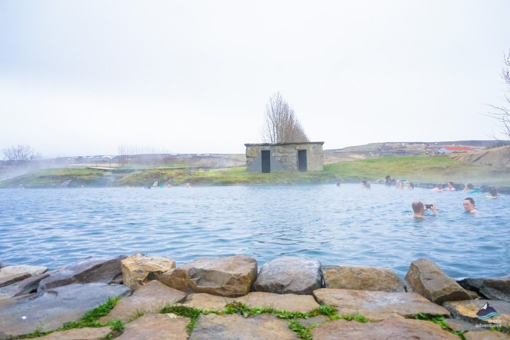 The perfect stop to make on the Golden Circle, the secret lagoon
