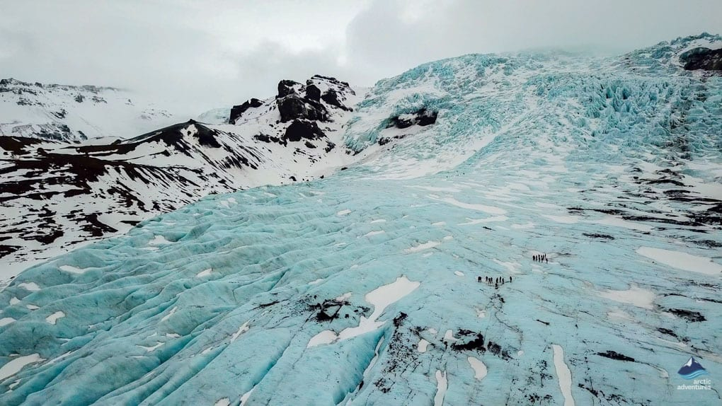 Svinafellsjokull, glacier hiking on Vatnajokull's outlet