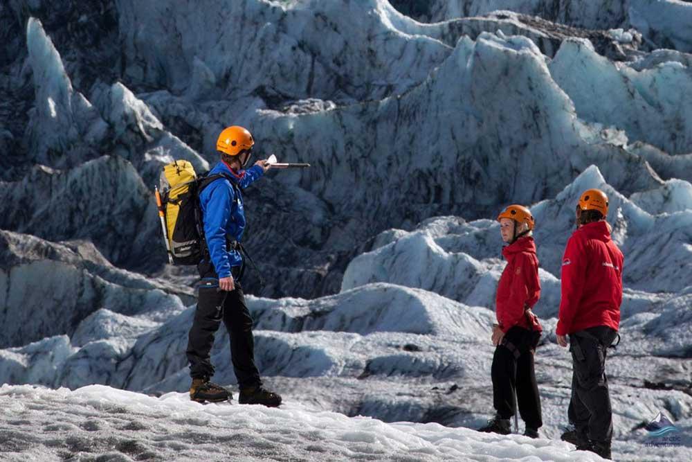Falljokull Glacier tour