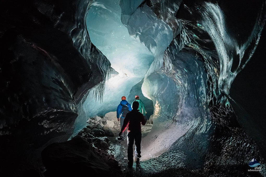 Glacier Ice Cave Iceland 2017-2018
