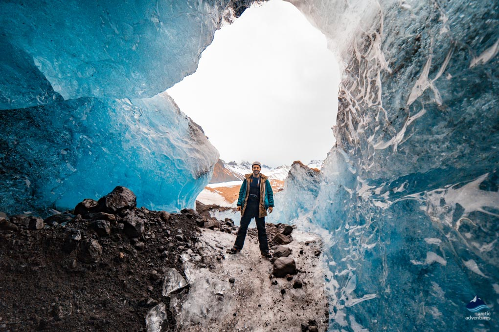 Glacier Ice Cave Iceland 2019
