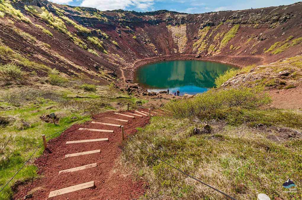 Kerid Volcanic Crater on the Golden Circle