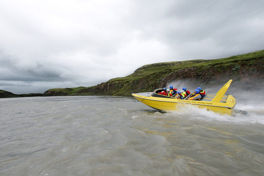 River Jet Tour in Iceland