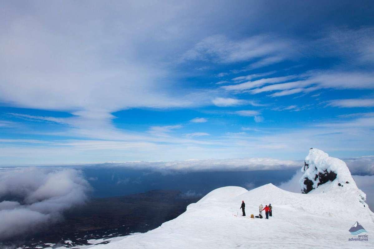 Snaefellsjokull Glacier