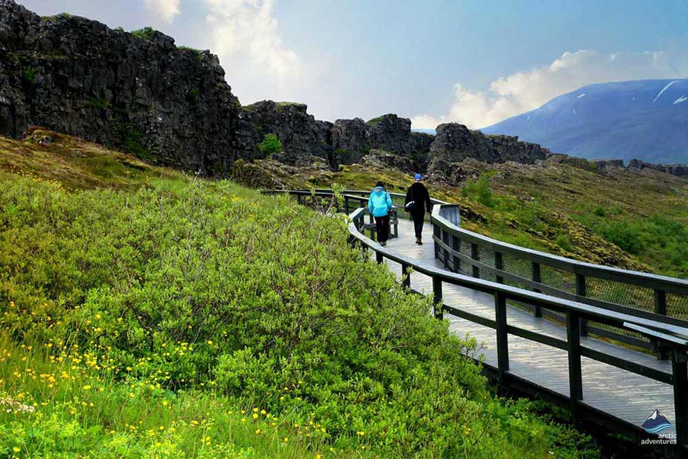 Thingvellir in summertime