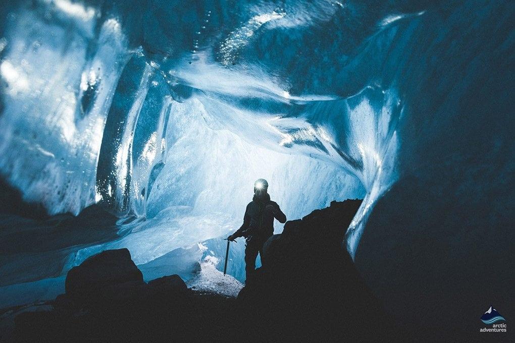Falljokull Ice Cave
