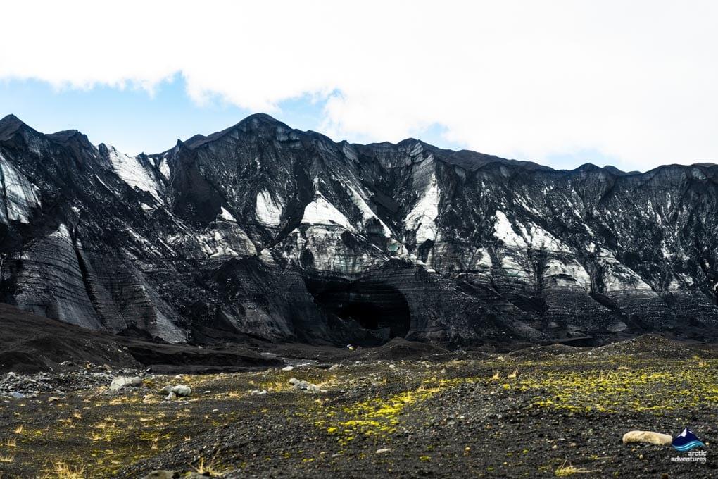 Kotlujokull glacier out of Myrdalsjokull glacier