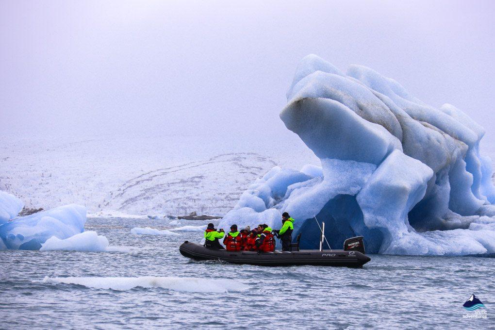 Jokulsarlon Glacier Lagoon Iceland Boat Tour