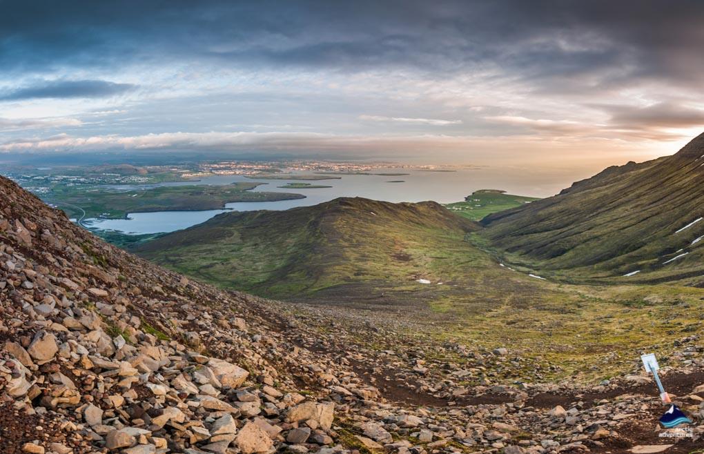 Esja mountain, Iceland