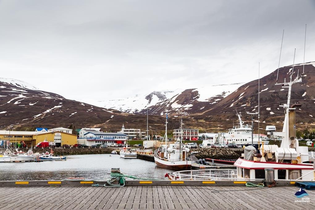 Dalvík fishing village