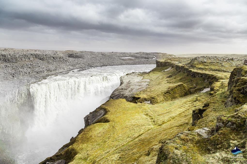 Dettifoss Waterfall North Iceland