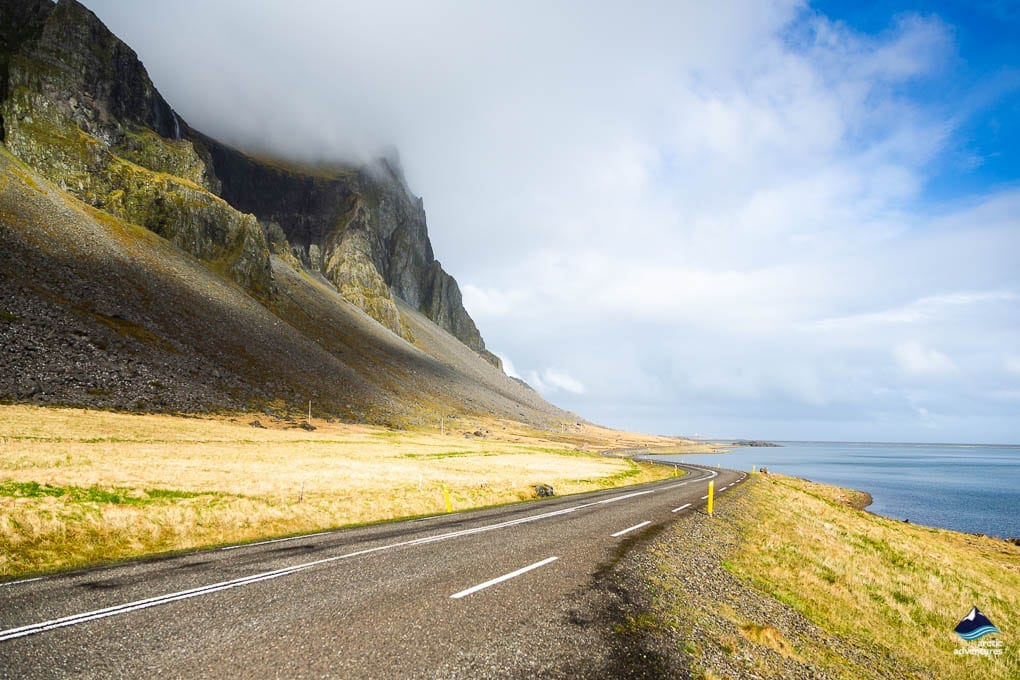 The East part of the Ring Road in Iceland