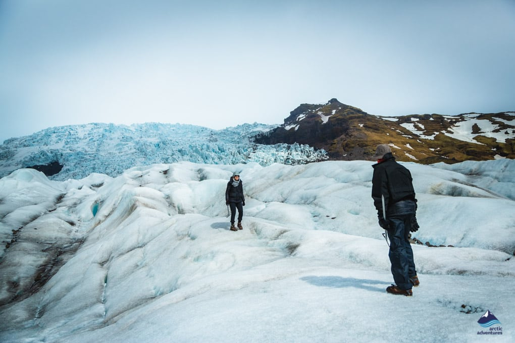 Glacier hiking adventure in Iceland