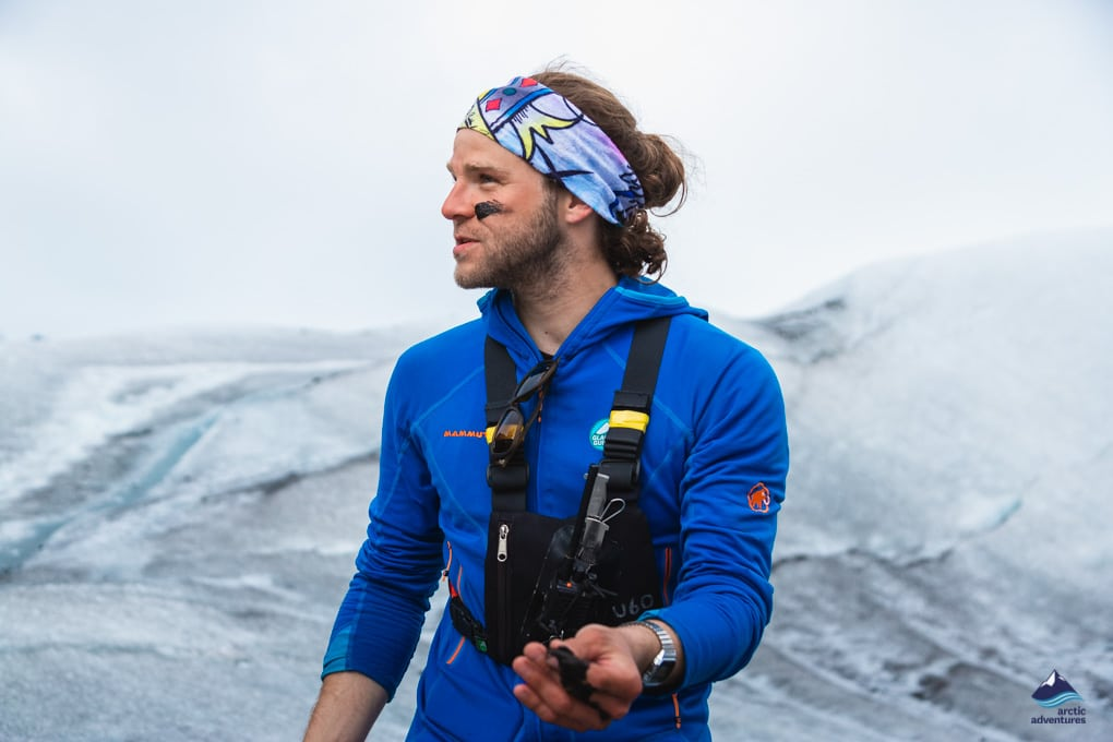 Glacier Guide in Skaftafell