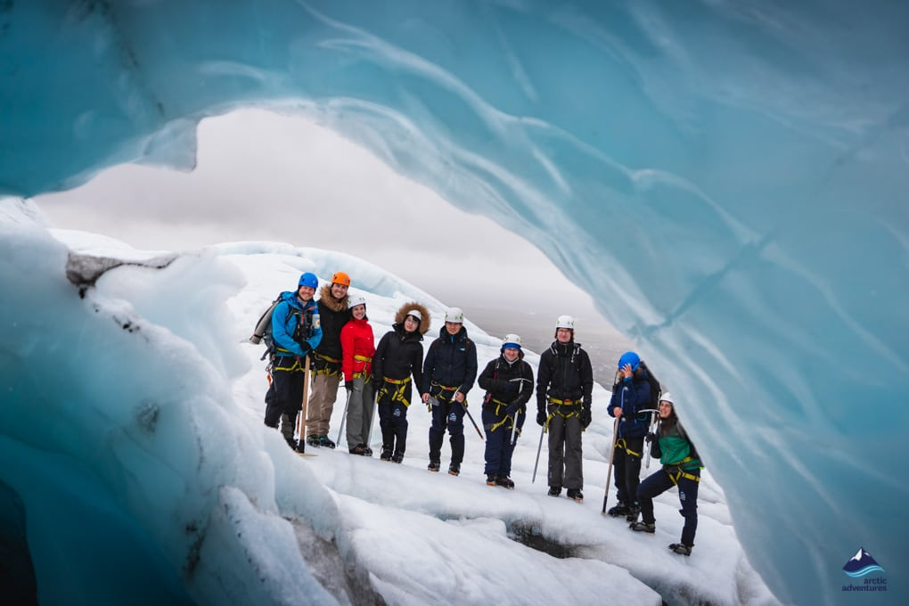 Glacier tour in Iceland