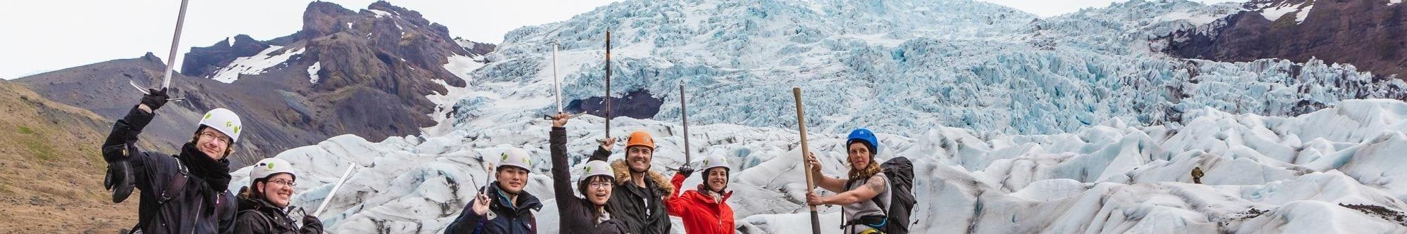Excursion Randonnée Glaciaire en Islande