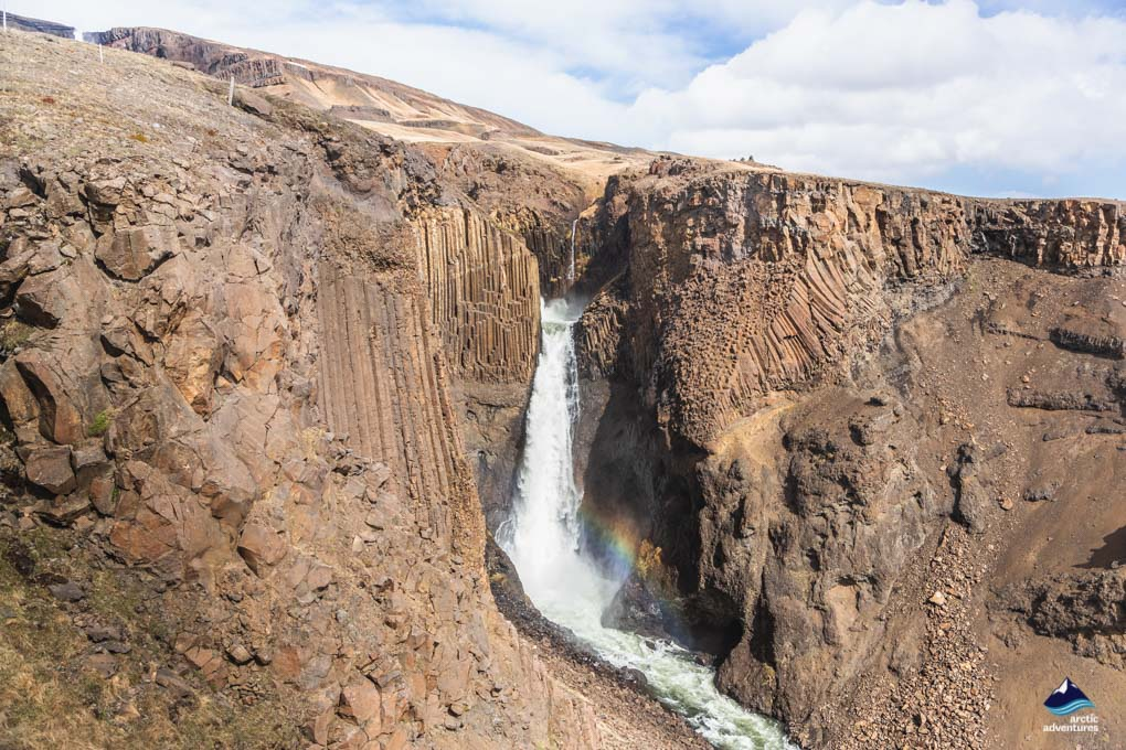 Litlanesfoss waterfall