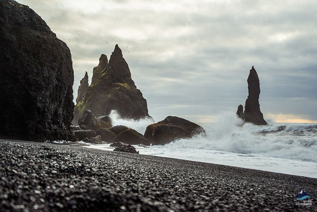 Reynisfjara Black Sand Beach on the South Coast