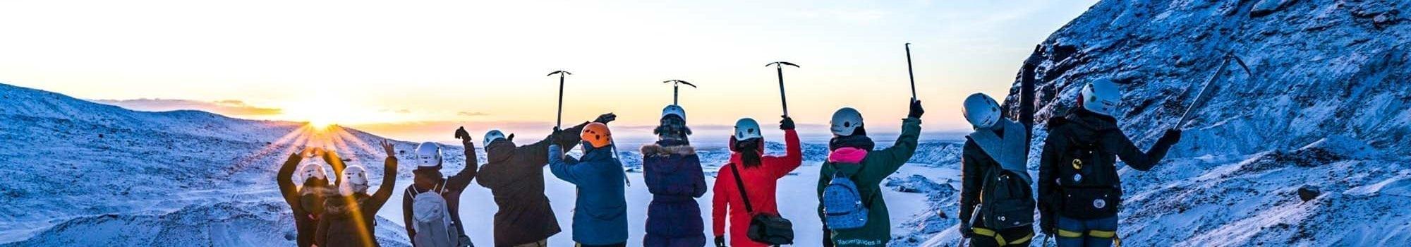 Vatnajokull Glacier Hike