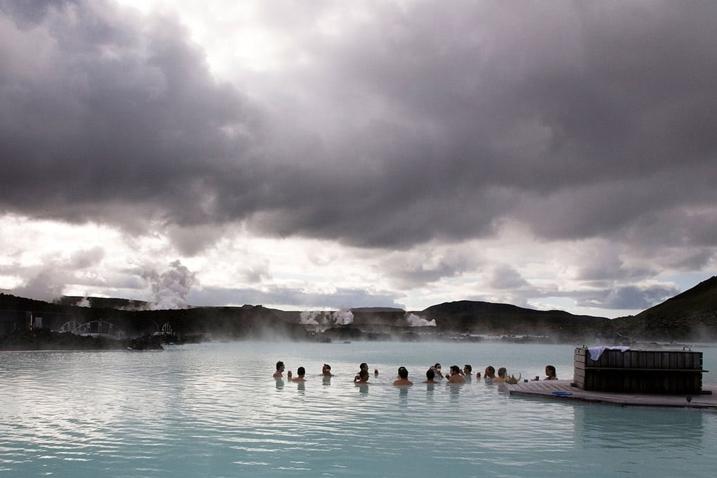 Blue Lagoon bathing facility Iceland