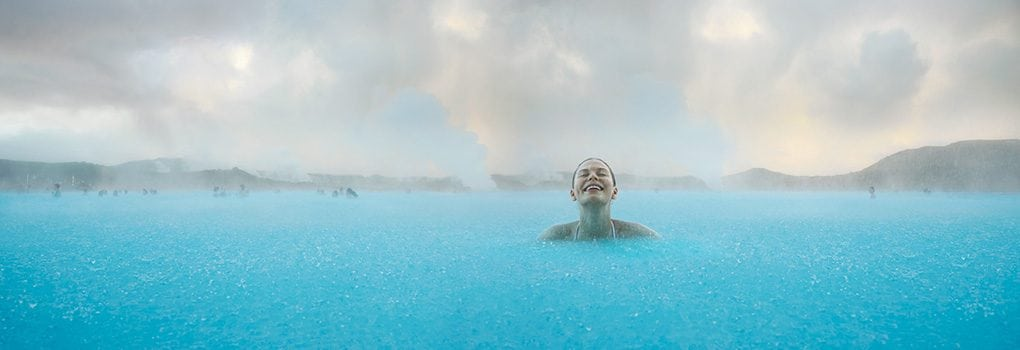 Happy Times in the Blue Lagoon Iceland