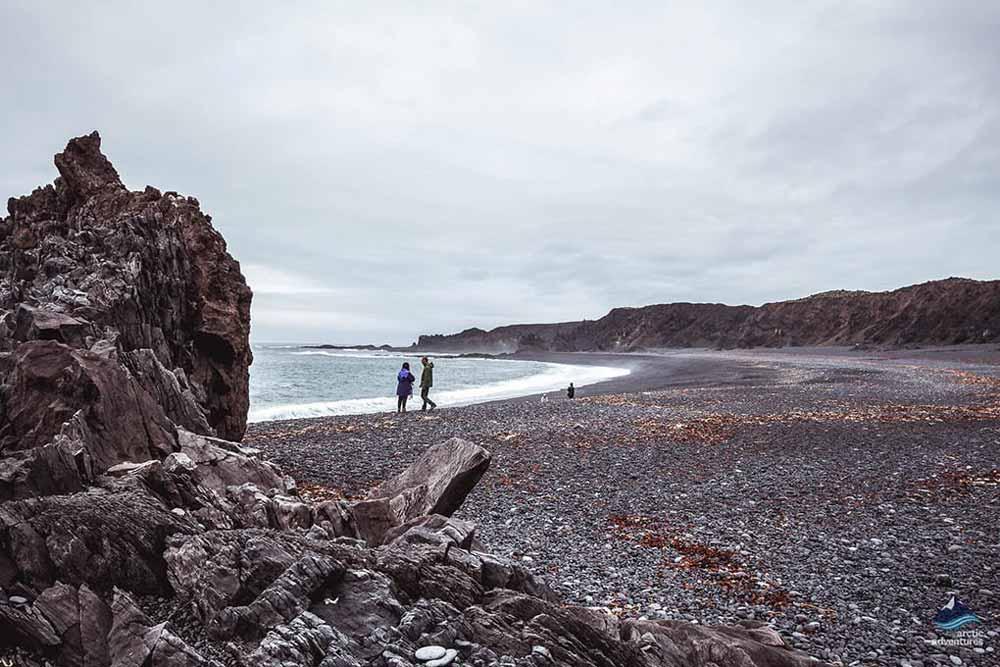 Djupalonssandur Beach on Snaefellsnes Peninsula