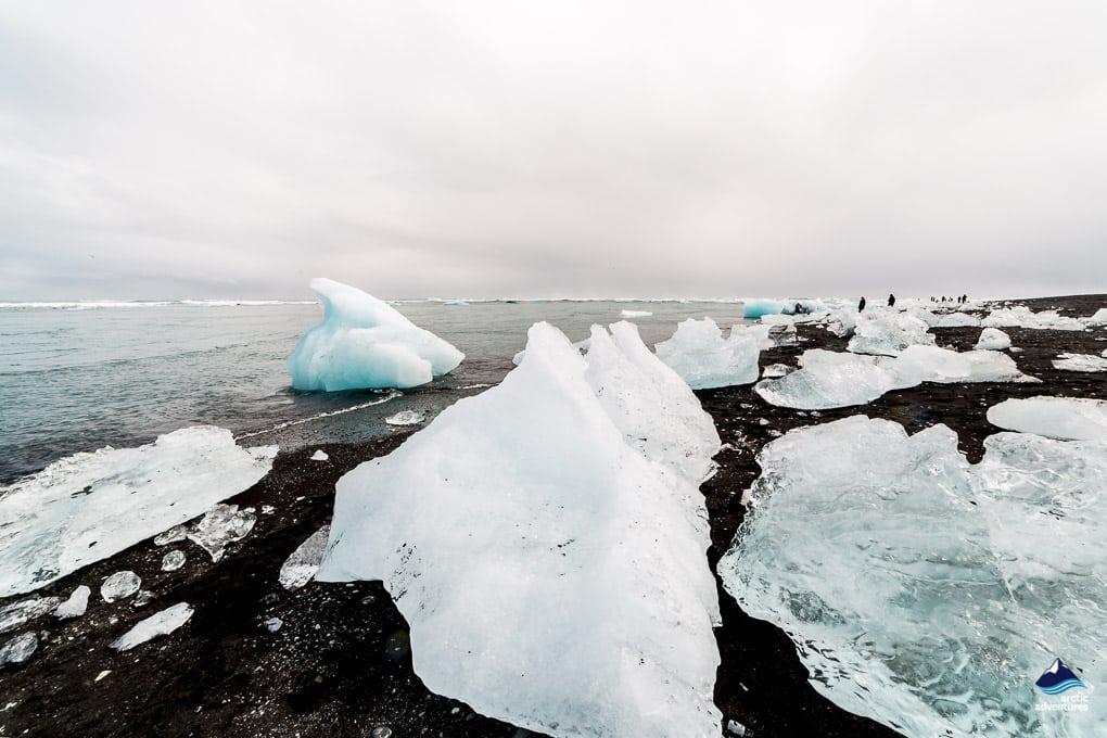 The Icebergs at The Diamond Beach Iceland