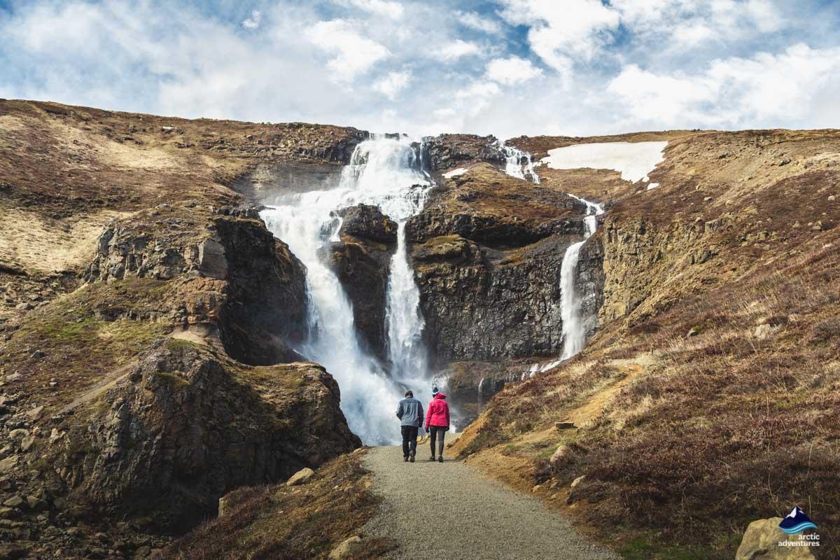 Rjukandi waterfall East Iceland