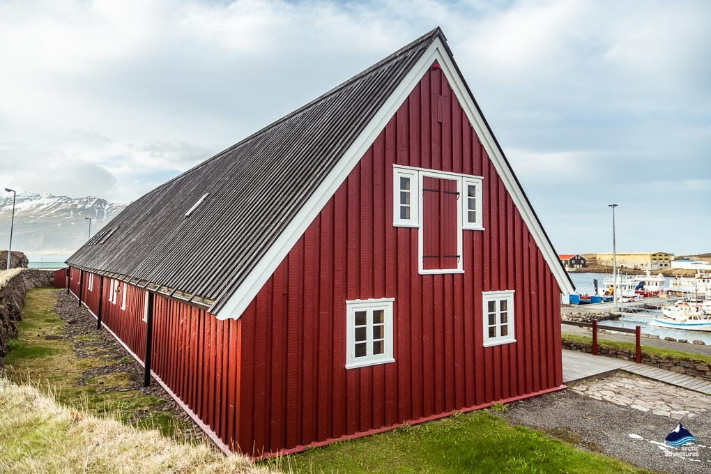 Iceland Wooden houses