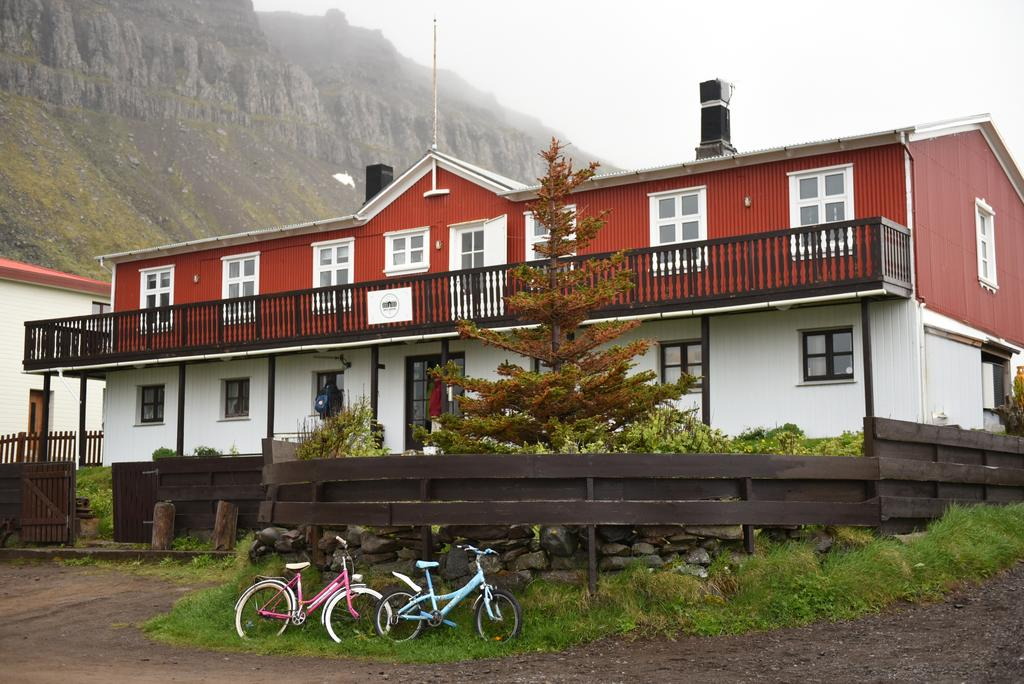 Hotel Djupavik in North West Iceland