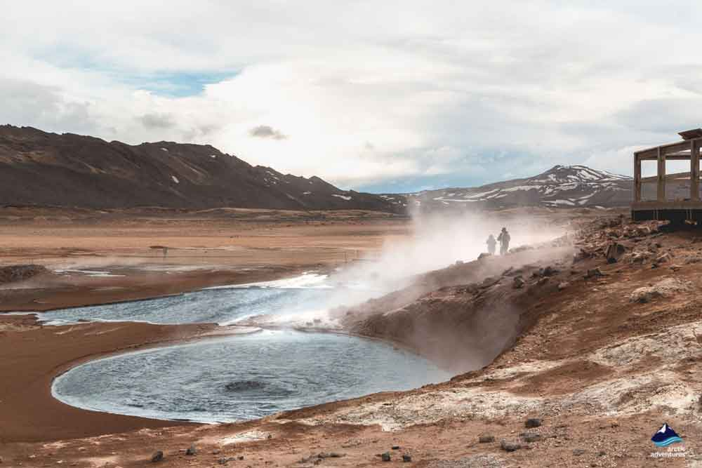 Geothermal Area around Namafjall