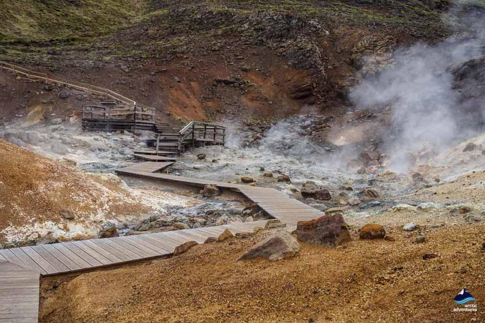 Seltun Reykjanes Peninsula Iceland