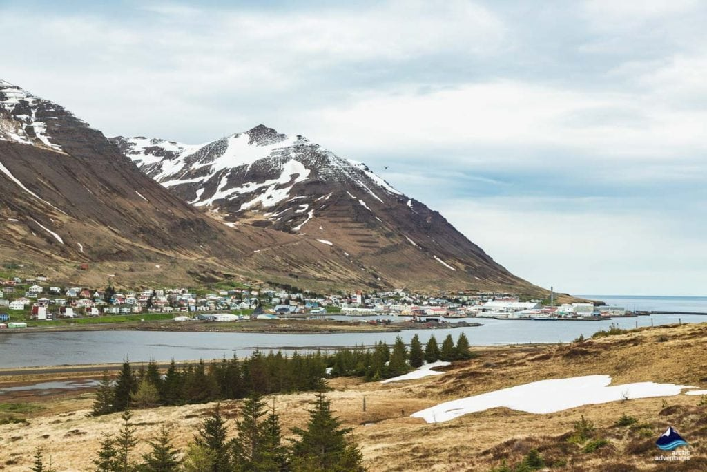 Siglufjordur village north iceladn