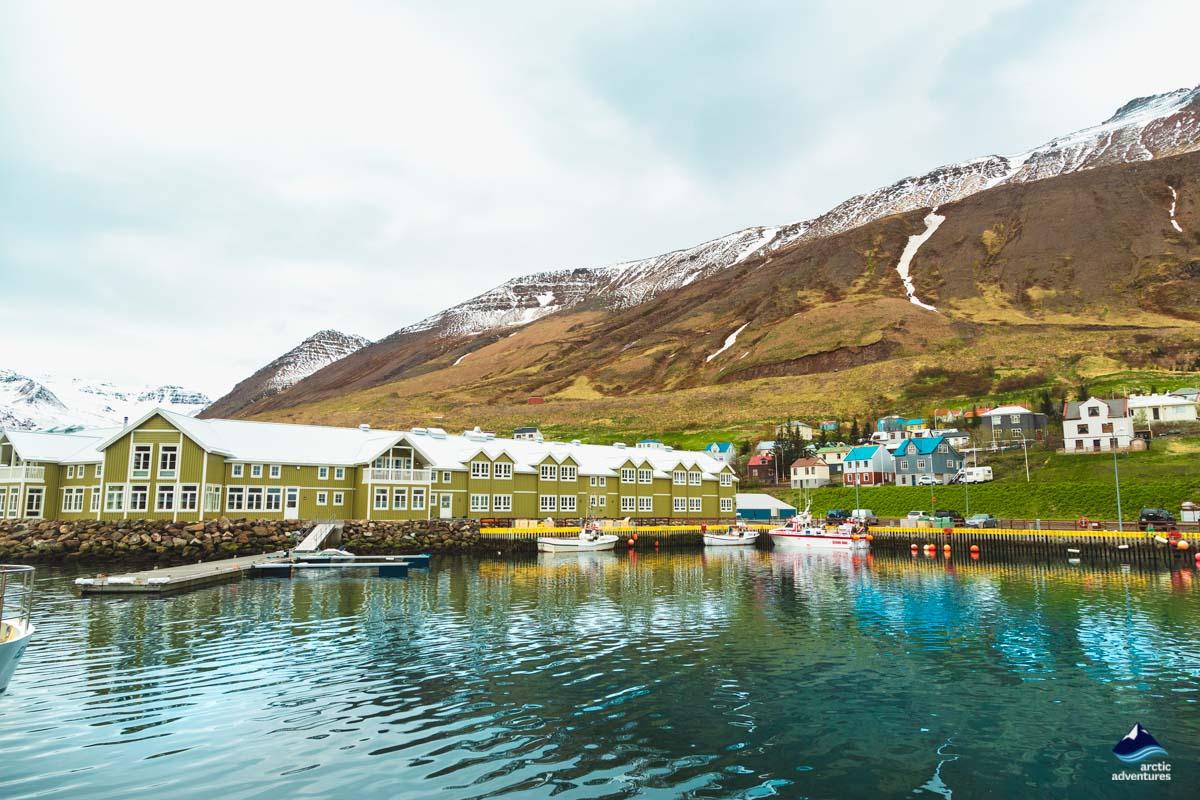 Siglufjordur harbour
