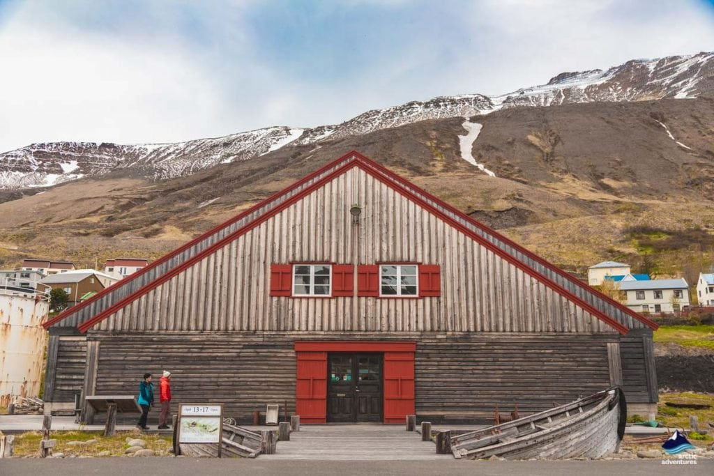 Siglufjordur houses North Iceland