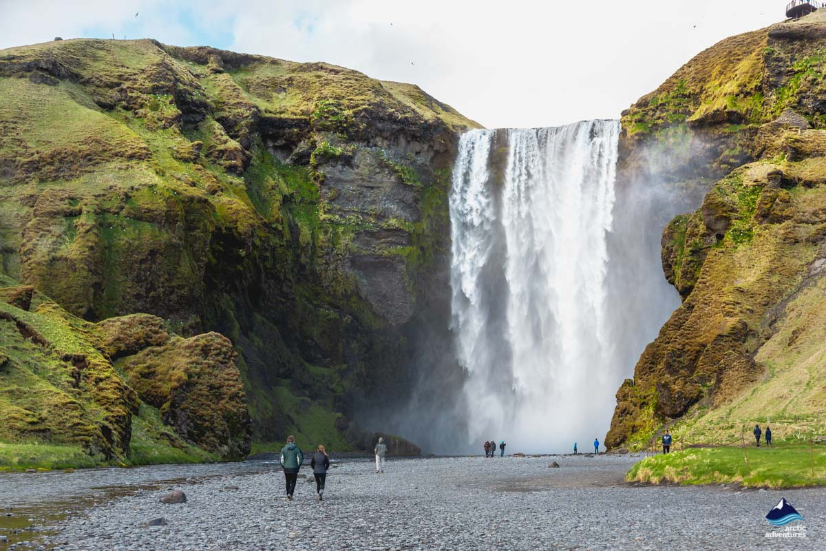 Skogafoss Waterfall on the South Coast