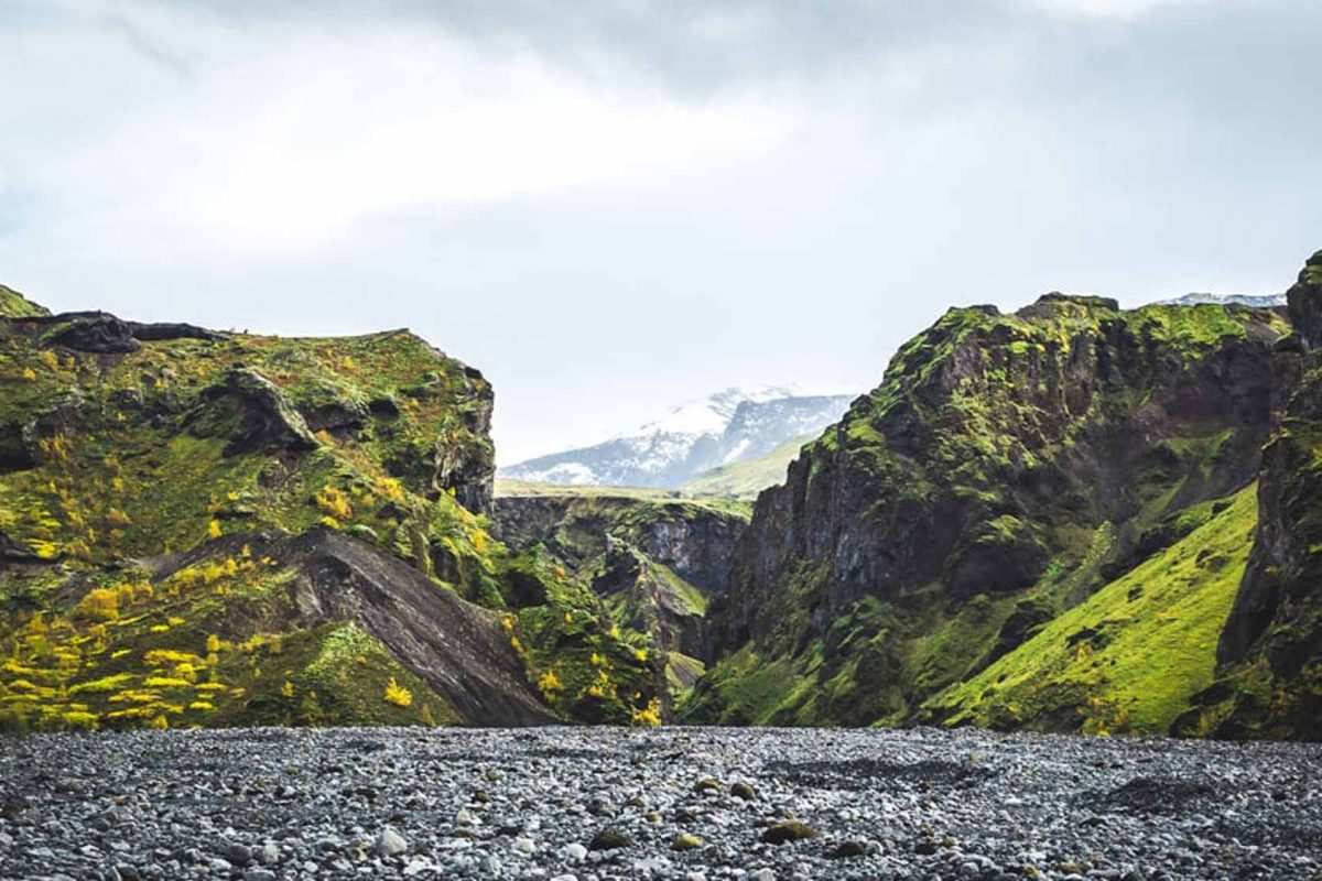 Thorsmork Valley Iceland