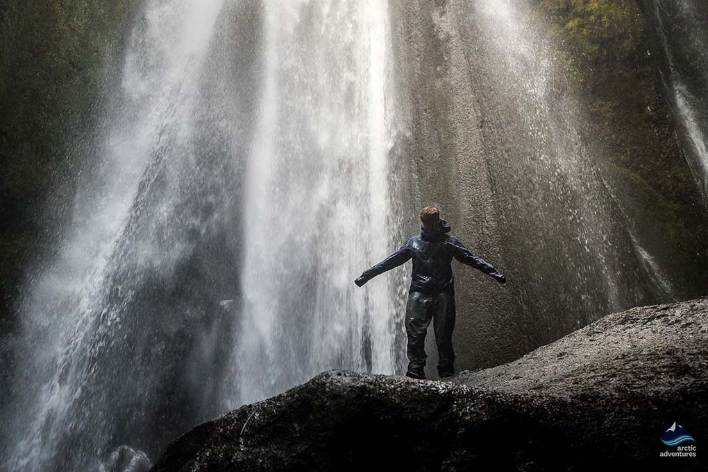 Gljufrabui waterfall Iceland