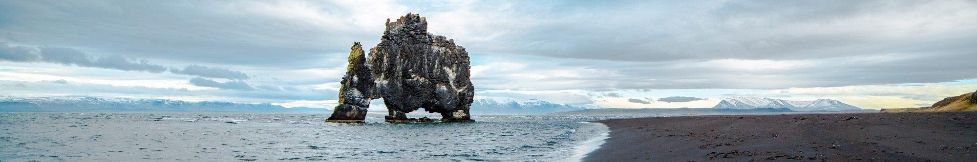 Rhino Rock Sea Stack